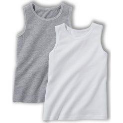 T-shirty chłopięce: Koszulka bez rękawów 3-12 lat (zestaw 2 sztuk)
