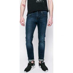 Lacoste - Jeansy. Niebieskie jeansy męskie regular Lacoste. W wyprzedaży za 369,90 zł.