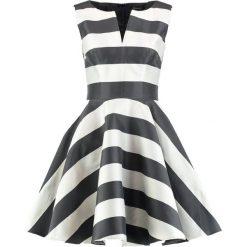 Swing Sukienka koktajlowa black/beige. Czarne sukienki koktajlowe marki Swing, z materiału. Za 509,00 zł.