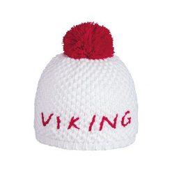 VIKING Czapka damska Orian biało-czerwona (2101817UNI). Białe czapki damskie marki Viking. Za 59,90 zł.