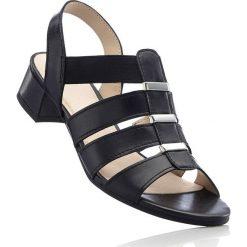 Sandały damskie: Sandały, tęgość G bonprix czarny