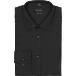 Koszula versone cod4 długi rękaw slim fit czarny. Czarne koszule męskie na spinki Recman, na lato, m, z aplikacjami, z bawełny, z klasycznym kołnierzykiem, z długim rękawem. Za 99,00 zł.