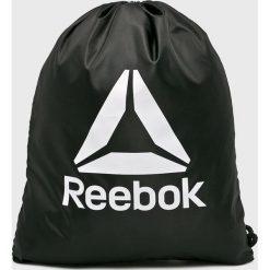 Reebok - Plecak. Czarne plecaki męskie Reebok, z materiału. Za 49,90 zł.