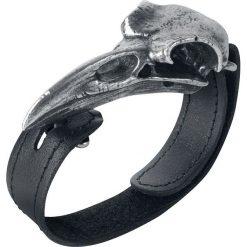 Bransoletki damskie na nogę: Alchemy Gothic Raven Skull Bransoletka standard