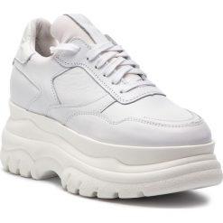 Sneakersy EVA MINGE - Cadalso 4C 18PM1372671EF 602. Białe sneakersy damskie Eva Minge, z lakierowanej skóry. W wyprzedaży za 299,00 zł.