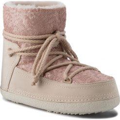 Buty INUIKII - Boot 70101-9 Sequin Powder. Czerwone buty zimowe damskie Inuikii, z nubiku. Za 1409,00 zł.