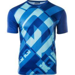 IQ Koszulka Rowerowa męska RAWI CLEMANTIS BLUE/PALACE BLUE r. XL. Szare koszulki sportowe męskie marki IQ, l. Za 39,99 zł.