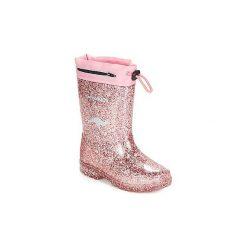 Kalosze Dziecko Kangaroos  K RAIN. Różowe kalosze dziewczęce marki American CLUB. Za 129,00 zł.