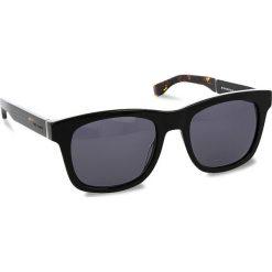 Okulary przeciwsłoneczne damskie aviatory: Okulary przeciwsłoneczne BOSS – 0337/S Black 807