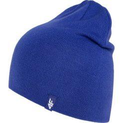 Czapki damskie: 4f Czapka damska zimowa niebieska r. S/M (H4Z17-CAD002 1283)