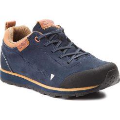 Trekkingi CMP - Kids Elettra Low Hiking Shoes 38Q9844 N950. Niebieskie buty trekkingowe chłopięce marki CMP, z materiału. W wyprzedaży za 169,00 zł.