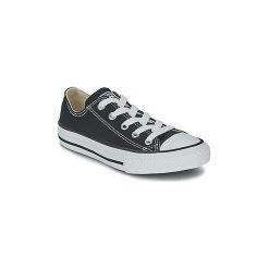 Buty Dziecko Converse  CHUCK TAYLOR ALL STAR CORE OX. Czarne trampki chłopięce marki Converse, retro. Za 199,00 zł.