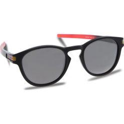 Okulary przeciwsłoneczne OAKLEY - Latch OO9265-2653 Ruby Fade/Prizm Black Polarized. Czarne okulary przeciwsłoneczne damskie aviatory Oakley. W wyprzedaży za 679,00 zł.