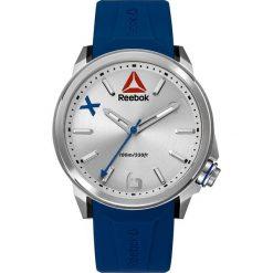 Zegarki męskie: Zegarek kwarcowy w kolorze niebiesko-srebrnym