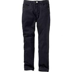 Rurki dziewczęce: Spodnie twillowe Slim Fit bonprix czarny