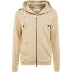 Swetry damskie: The Editor STAR ZIPPPED HOODIE Bluza rozpinana beige