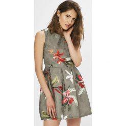 Haily's - Sukienka Saskia. Szare sukienki mini marki Haily's, na co dzień, l, z poliesteru, casualowe, z okrągłym kołnierzem, oversize. W wyprzedaży za 99,90 zł.