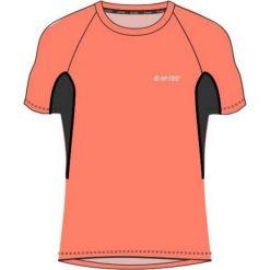 Hi-tec Koszulka Sportowa Damska Redan Fresh Salmon/Blue Graphite r. S. Niebieskie bluzki sportowe damskie Hi-tec, s. Za 49,99 zł.