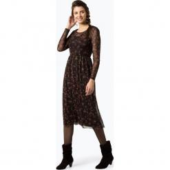 Vila - Sukienka damska – Vinadya, czarny. Czarne sukienki na komunię marki Vila, l, z nadrukiem, z materiału, rozkloszowane. Za 179,95 zł.