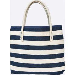 Zaxy  - Torebka. Szare shopper bag damskie marki Zaxy, z materiału, duże. W wyprzedaży za 89,90 zł.
