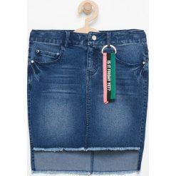 Krótka jeansowa spódnica - Niebieski. Niebieskie minispódniczki Reserved, z jeansu. Za 49,99 zł.
