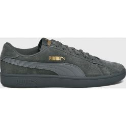 Puma - Buty Smash v2. Szare buty skate męskie Puma, z gumy, na sznurówki. W wyprzedaży za 219,90 zł.