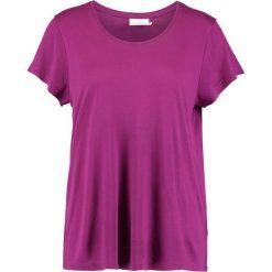 T-shirty damskie: Kaffe ANNA O NECK Tshirt basic magenta plum