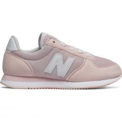 New Balance KL220P2Y. Szare buty sportowe dziewczęce New Balance, na lato, z materiału. W wyprzedaży za 99,99 zł.