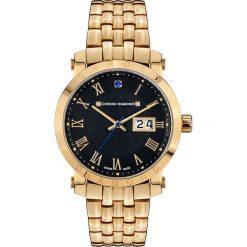"""Zegarki męskie: Zegarek kwarcowy """"Nestorius"""" w kolorze złoto-czarnym"""