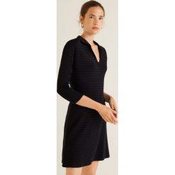 Mango - Sukienka Redford. Szare długie sukienki marki Mango, na co dzień, l, z tkaniny, casualowe, z dekoltem halter, na ramiączkach, rozkloszowane. Za 139,90 zł.