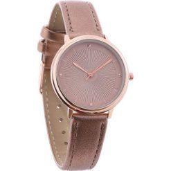 Ciemnobeżowy Zegarek Little Grain. Brązowe zegarki damskie Born2be. Za 29,99 zł.