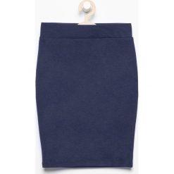 Spódniczki dziewczęce: Elastyczna spódnica ołówkowa – Granatowy