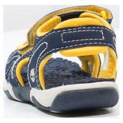 Timberland ADVENTURE SEEKER Sandały trekkingowe navy/yellow. Niebieskie sandały męskie skórzane marki Timberland. Za 189,00 zł.