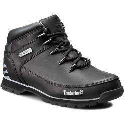 Trapery TIMBERLAND - Euro Sprint A17JR/TB0A17JR0011 Black. Czarne glany męskie marki Timberland, z gumy. W wyprzedaży za 439,00 zł.