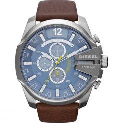 Biżuteria i zegarki: Zegarek DIESEL - Mega Chief DZ4281  Dark Brown/Silver
