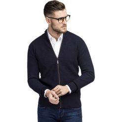 Sweter OSCAR SWGR000232. Białe swetry rozpinane męskie marki Giacomo Conti, na jesień, m, z bawełny. Za 199,00 zł.