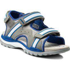 Sandały GEOX - J Borealis B. B J820RB 01050 C0069 D Grey/Royal. Szare sandały męskie skórzane marki Geox. Za 309,00 zł.