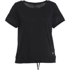 ASICS Tshirt basic black. Czarne topy sportowe damskie Asics, xs, z elastanu. W wyprzedaży za 126,75 zł.