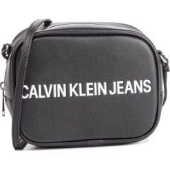 bb8b2bb0d236c Torebka CALVIN KLEIN JEANS - Sculpted Logo Camera Bag K60K605247 001.  Czarne listonoszki damskie Calvin