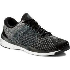 Buty UNDER ARMOUR - Ua W Threadborne Push Tr 1296206-001 Blk/Stl/Sty. Czarne buty do fitnessu damskie marki Under Armour, z gumy. W wyprzedaży za 379,00 zł.