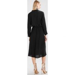 Długie sukienki: Moss Copenhagen TENIA LONG DRESS Długa sukienka black