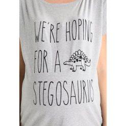 T-shirty damskie: JoJo Maman Bébé STEGASAURUS SLOGAN TEE Tshirt z nadrukiem grey