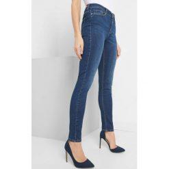 Jeansy skinny. Brązowe jeansy damskie skinny marki Orsay, s, z dzianiny. Za 119,99 zł.