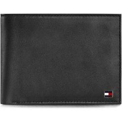 Duży Portfel Męski TOMMY HILFIGER - Eton Cc And Coin Pocket AM0AM00651 Black 002. Czarne portfele męskie marki TOMMY HILFIGER, ze skóry. Za 299,00 zł.