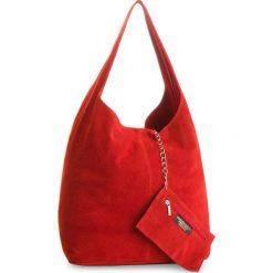 Torebka CREOLE - K10408 Czerwony. Czerwone torebki klasyczne damskie Creole, ze skóry. W wyprzedaży za 139,00 zł.