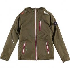 """Kurtka przejściowa """"Alias"""" w kolorze khaki. Brązowe kurtki chłopięce przejściowe marki Geographical Norway Kids & Women. W wyprzedaży za 226,95 zł."""