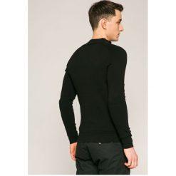 Guess Jeans - Kardigan. Szare kardigany męskie marki Guess Jeans, l, z aplikacjami, z bawełny. W wyprzedaży za 299,90 zł.