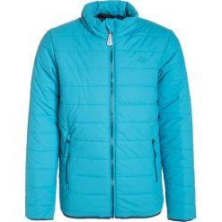 Mikkline Kurtka zimowa cyan blue. Niebieskie kurtki chłopięce sportowe marki bonprix, z kapturem. W wyprzedaży za 135,20 zł.