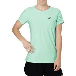 Asics Koszulka damska SS TOP zielona r. M (134104 0498). Niebieskie bluzki damskie marki Asics, m, z elastanu. Za 73,21 zł.