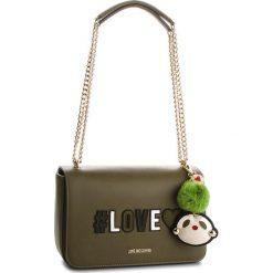 Torebka LOVE MOSCHINO - JC4068PP16LK0850  Verde. Zielone torebki klasyczne damskie marki Love Moschino, ze skóry ekologicznej. W wyprzedaży za 669,00 zł.